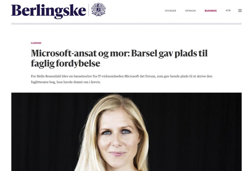 Berlingske, Helle Rosendahl
