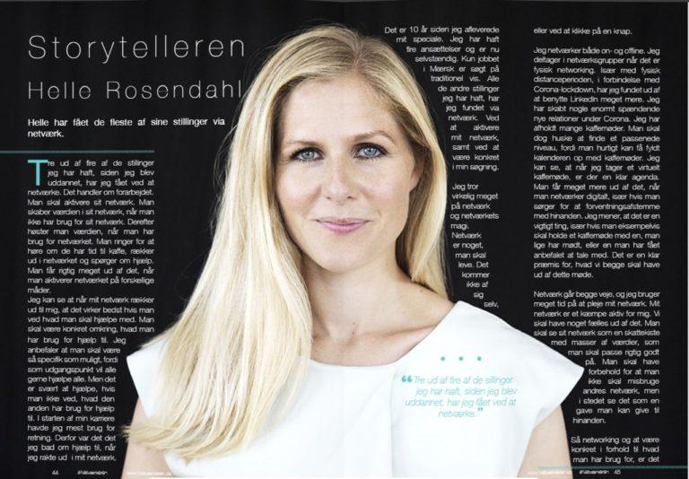 netvaerkeren - Storytelleren Helle Rosendahl