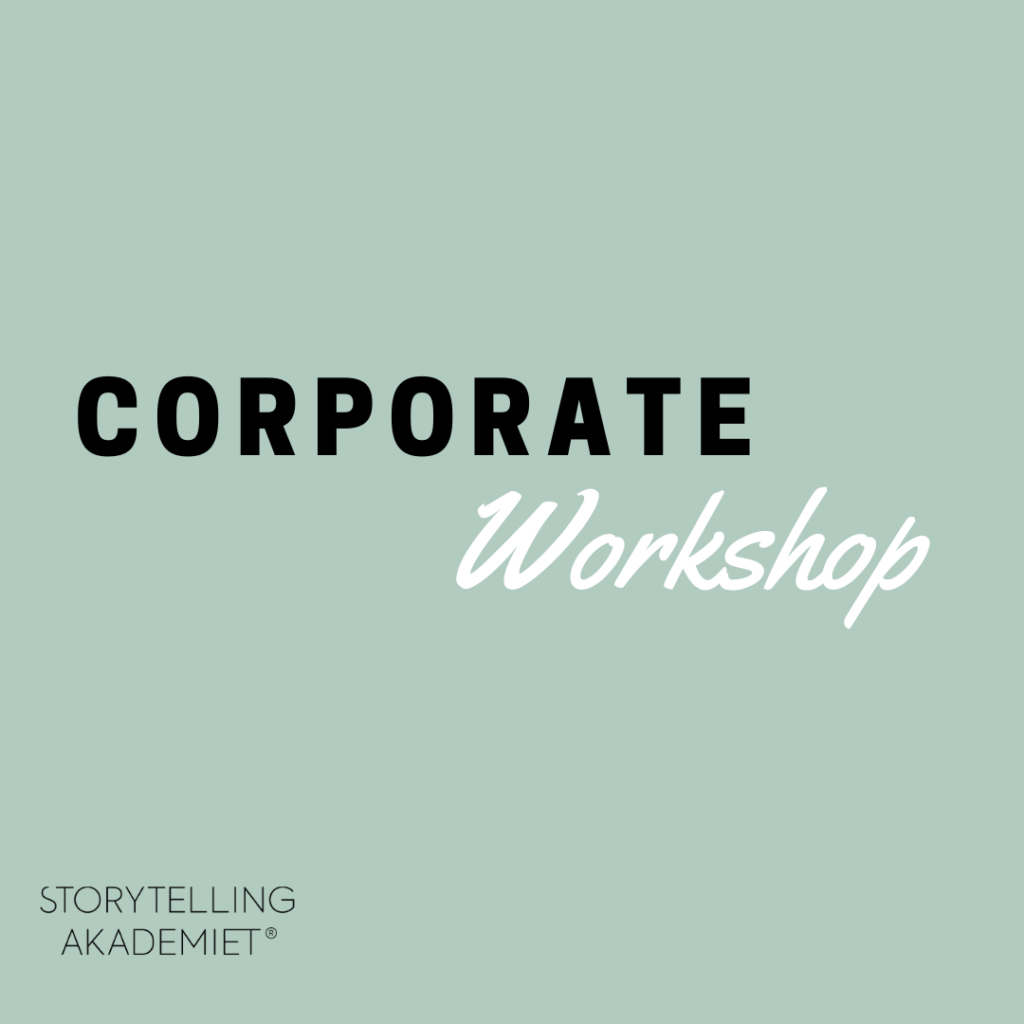 Corporate workshop - Strategisk Storytelling