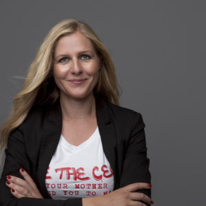 t shirt - Be the CEO - Helle Rosendahl portræt