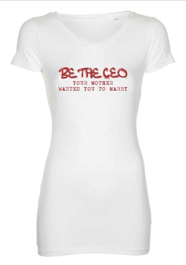 t shirt - Be the CEO - Storytelling Akademiet
