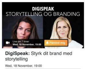 DigiSpeak - Storytelling Akademiet