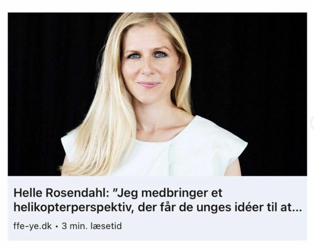 Fonden For Entreprenørskab - Helle Rosendahl
